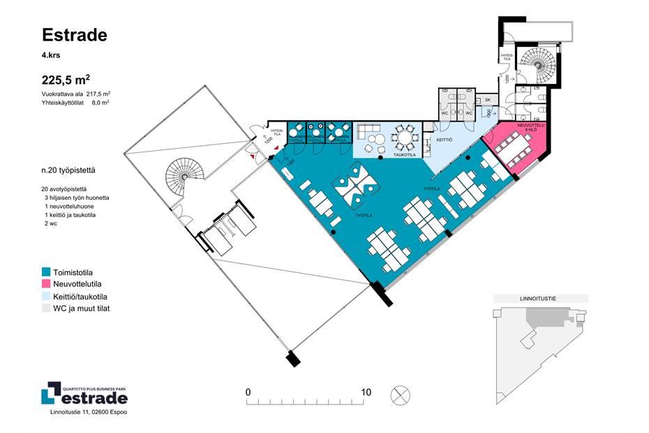 Linnoitustie 11, Espoo Estrade_233.5m2_1