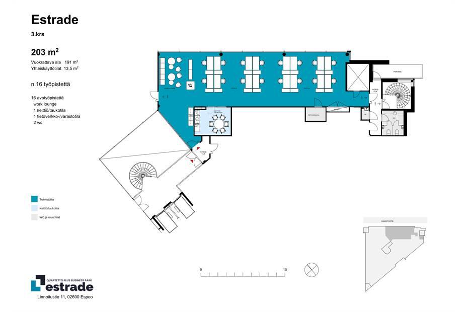 Linnoitustie 11, espoo Estrade_535m2_1