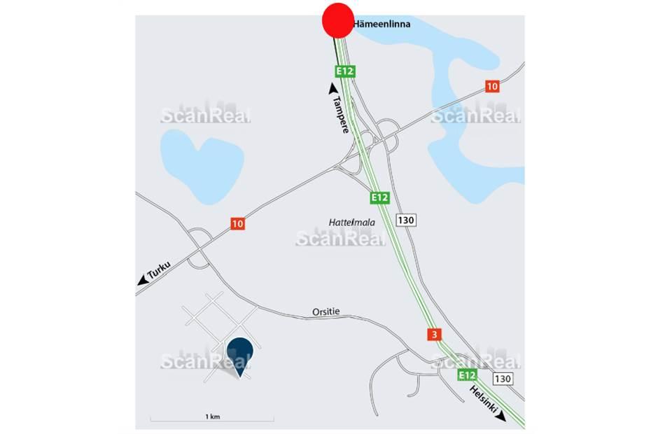 Taipaleentie 4, Moreeni, Hämeenlinna