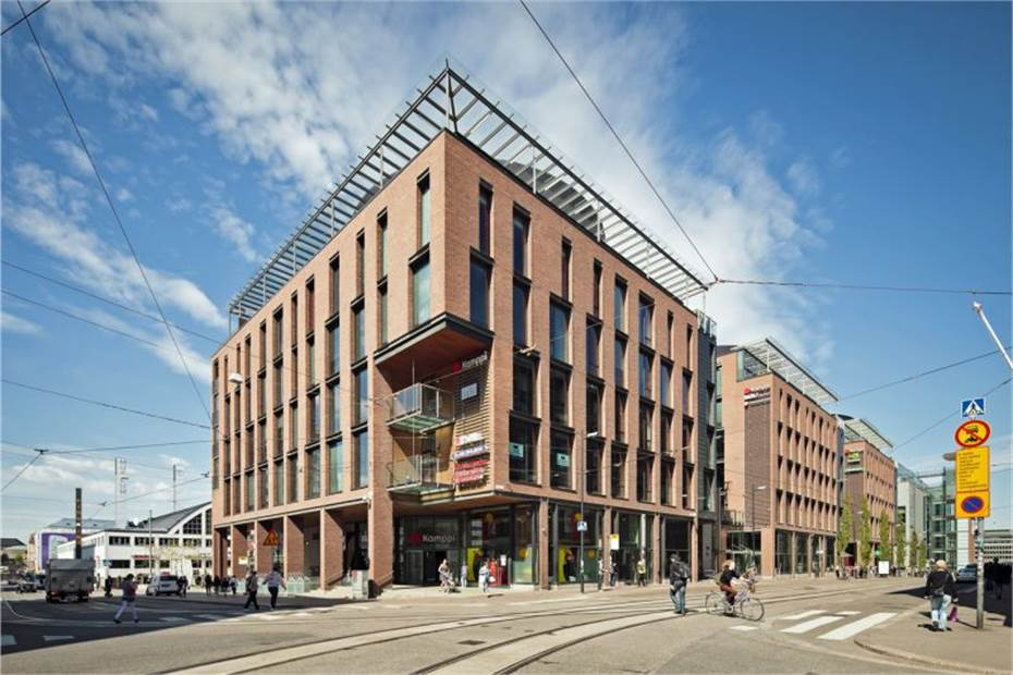 Urho Kekkosen katu 3-7, Kamppi, Helsinki