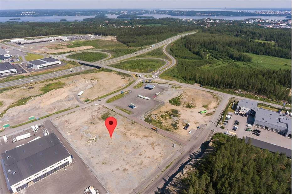 Autokeskuksentie 3, Linnakallio I, Pirkkala