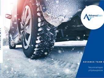 Merkittävä ajoneuvoteollisuuden talvitestausalue