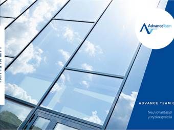 Alumiini- ja lasirakentamiseen erikoistunut yritys