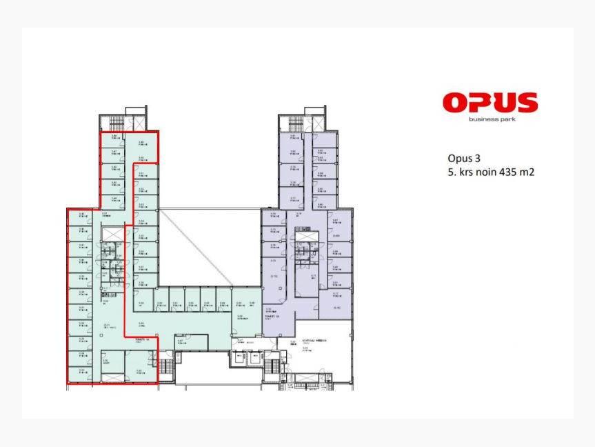 OPUS 3, 5.krs 435 m2