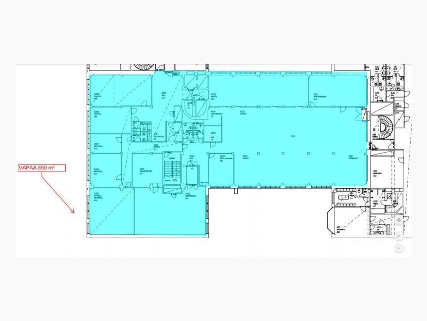 850 m2 pohja