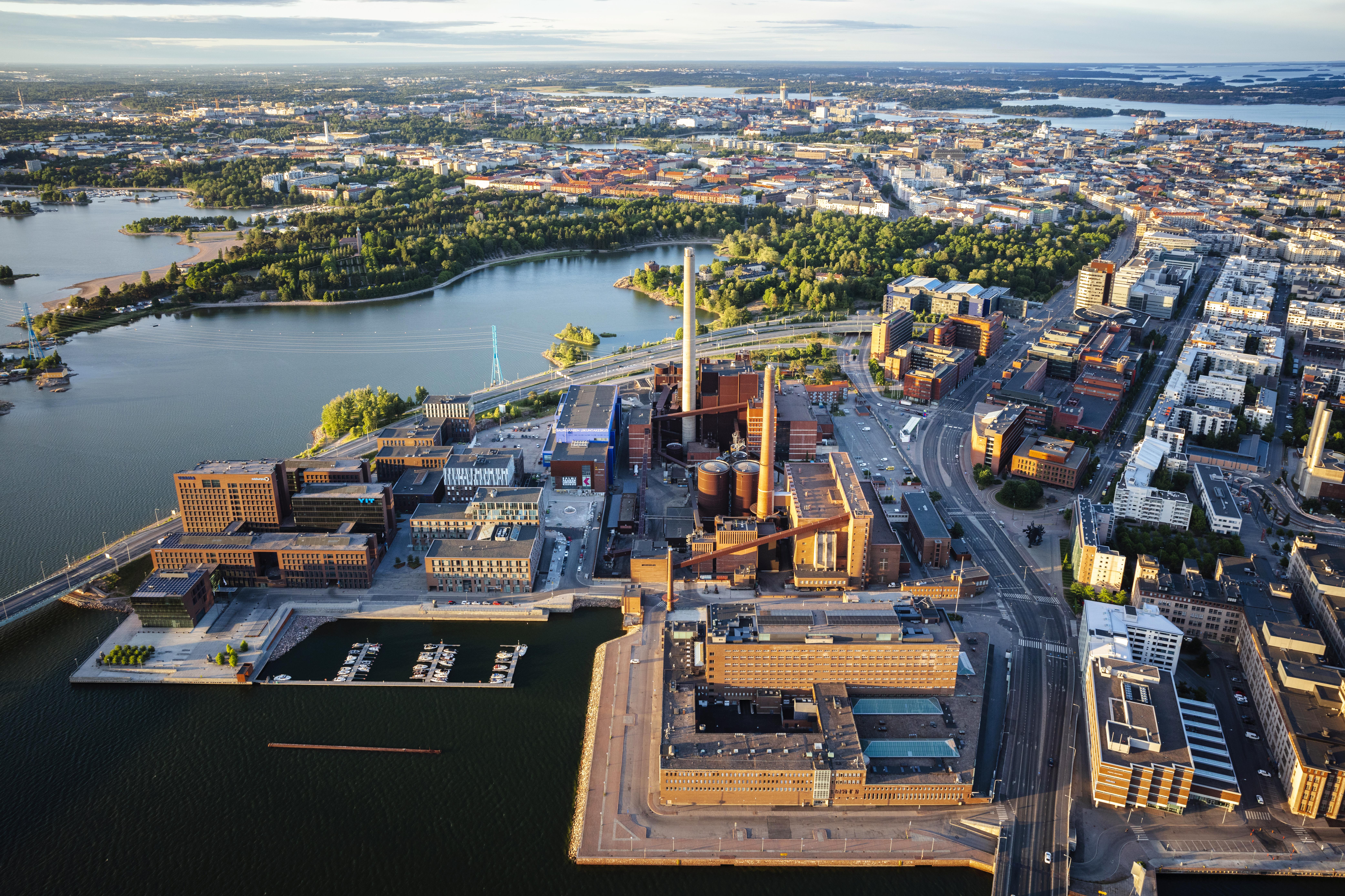 Toimitila, Tallberginkatu 2, Ruoholahti, Helsinki