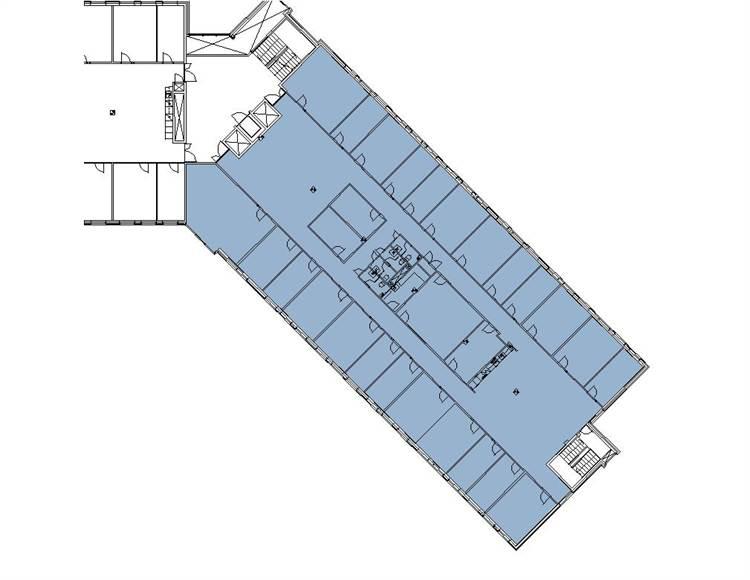 Planlösning Tuomarilantie 19 Espoon Keskus