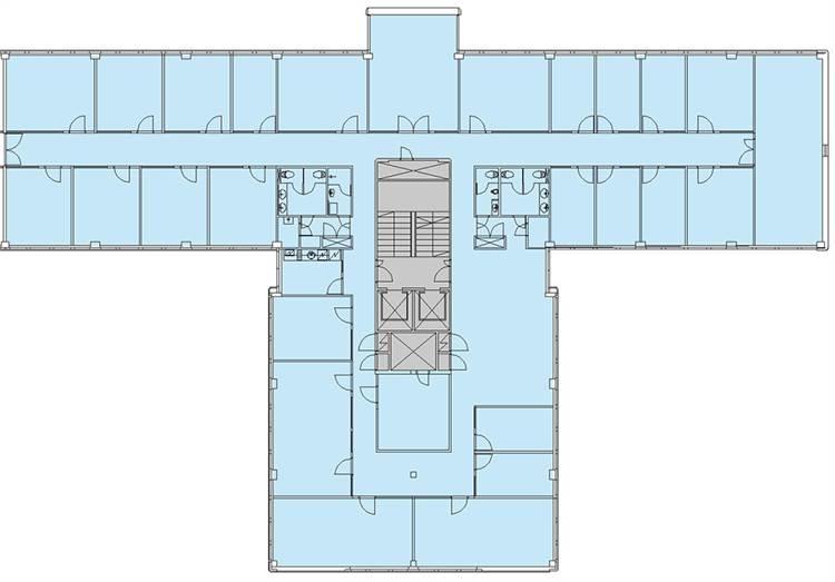 Planlösning Nuijamiestentie 3 Pohjois-Haaga