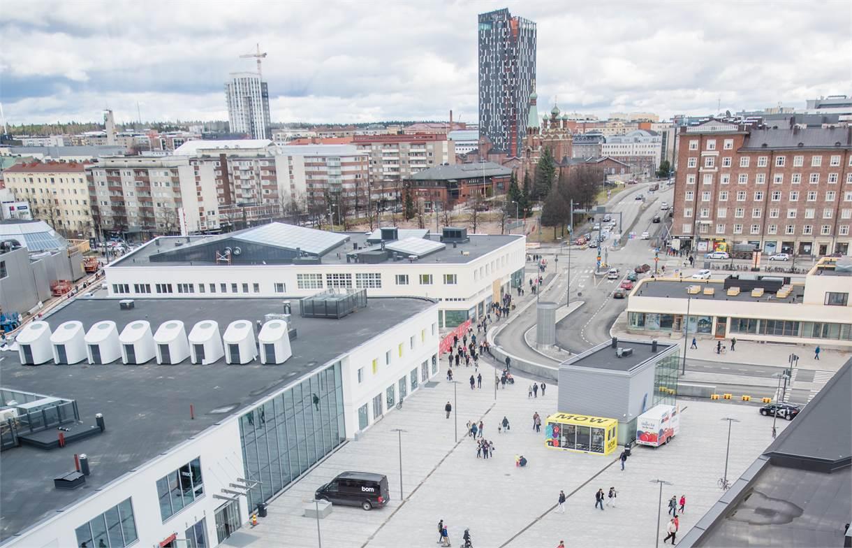 Ratinankuja 1, Ratina, Tampere