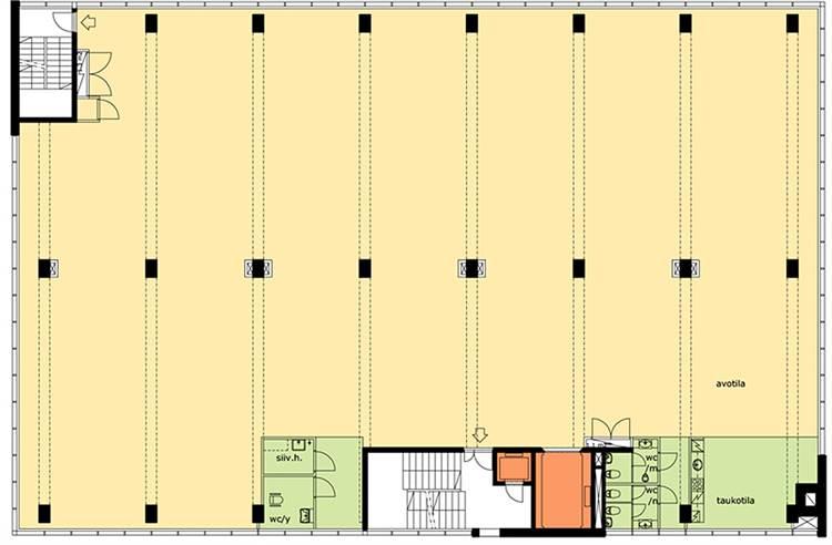 Planlösning Höyläämötie 5 Pitäjänmäen teollisuusalue