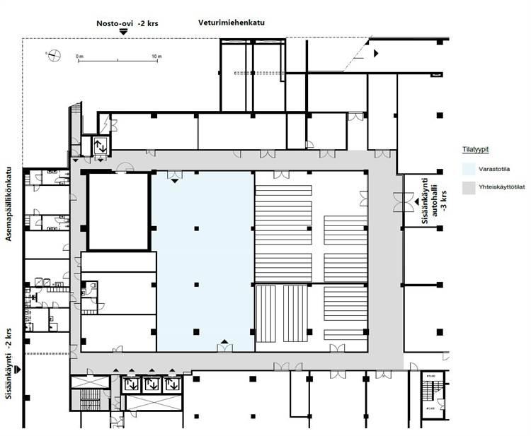 Planlösning Ratapihantie 11 Itä-Pasila