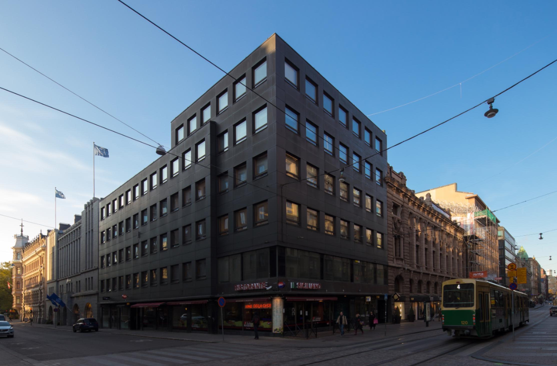 Toimitila, Aleksanterinkatu 36, Kuuvi, Helsinki