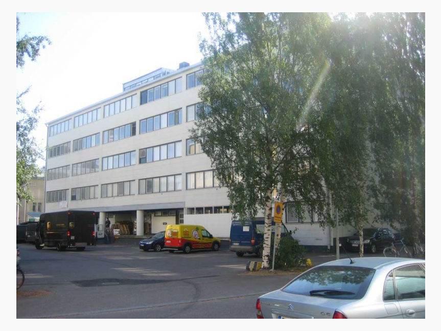 Kutomotie 6, Pitäjänmäki, Helsinki