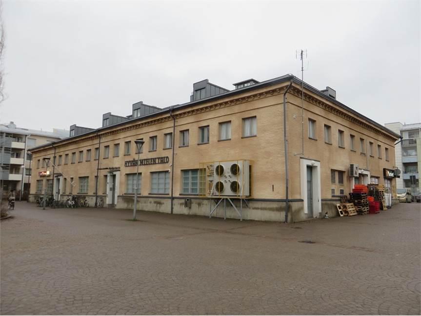 Puusepänkatu 4, Myllytulli, Oulu