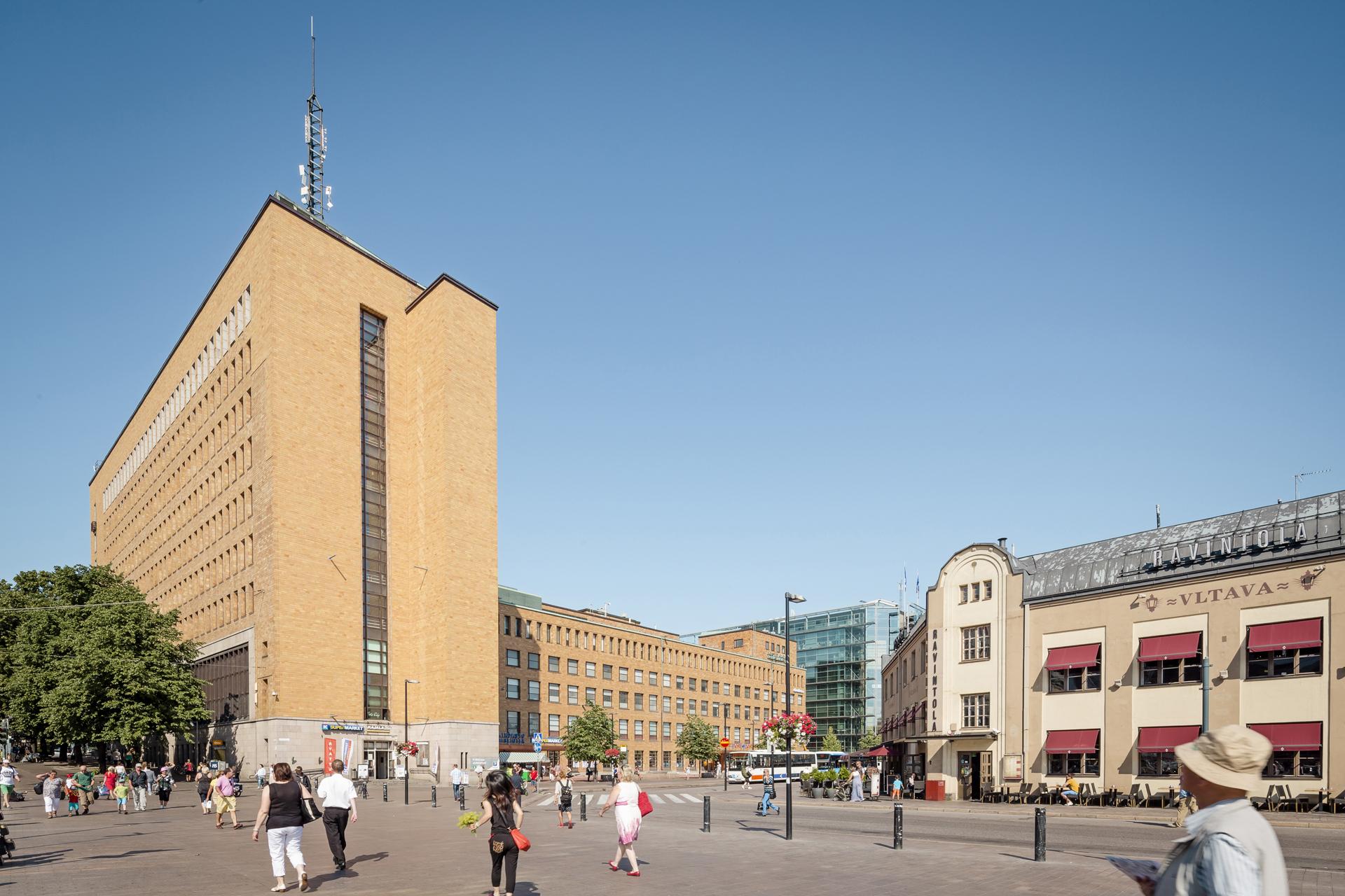 Mannerheiminaukio 1, Keskusta, Helsinki