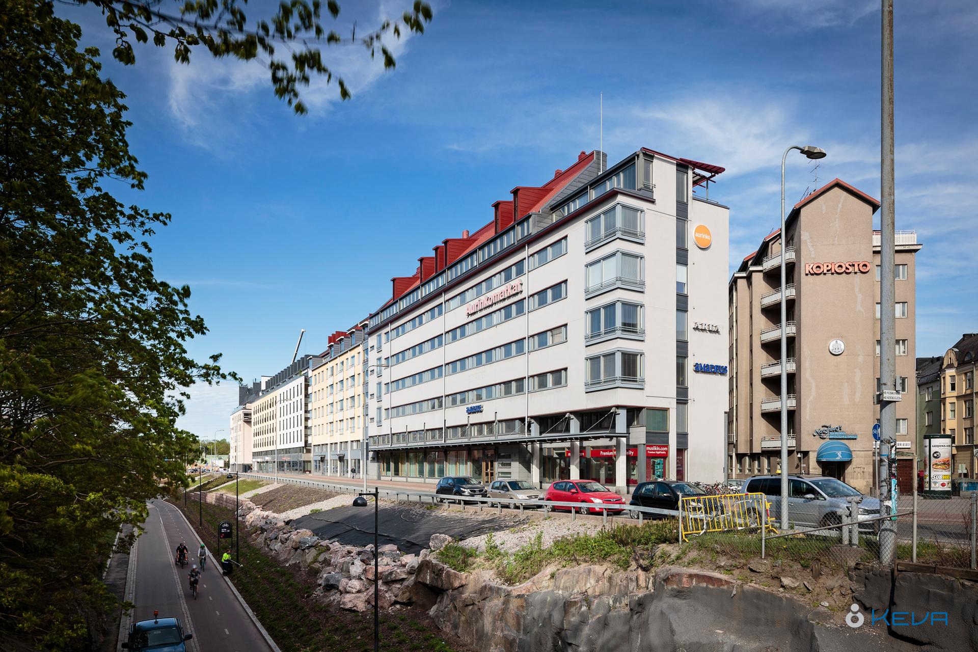 Toimitila, Pohjoinen Rautatienkatu 25, Etu-Töölö, Helsinki