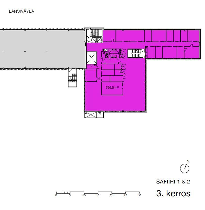 Puolikkotie 10, 3. krs 756,5 m2