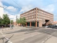 Konepajankuja 1 Fredriksberg rakennus julkisivukuva