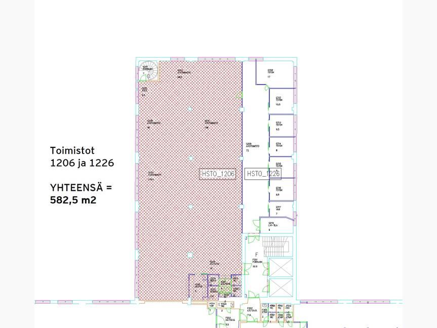 Kiviaidankatu 582,5 m2