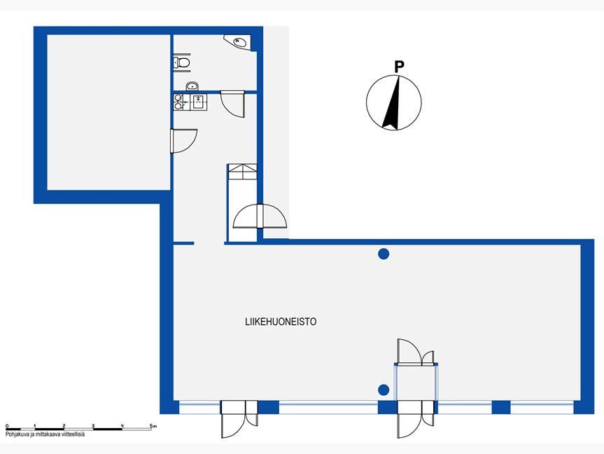 Hiihtäjäntie 1 E,Hki 126,5m2 pohja