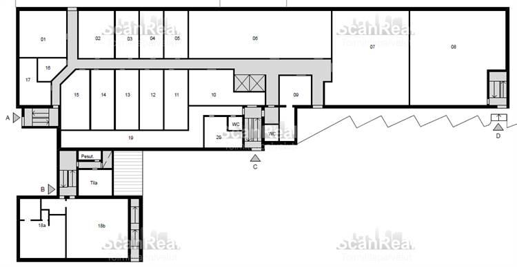Planlösning Linnanrakentajantie 6 Herttoniemi