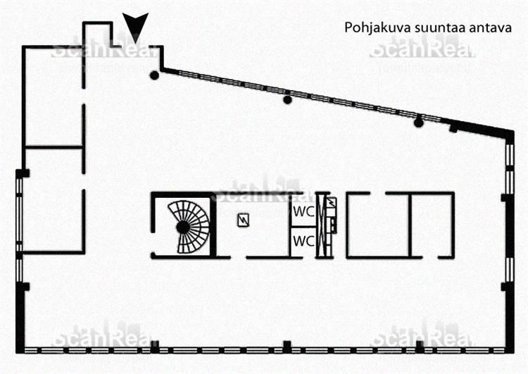 Planlösning Äyritie 8-12 Aviapolis