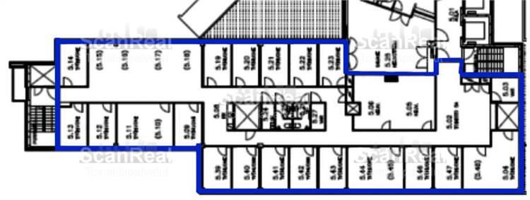 Planlösning Hitsaajankatu 20-24 Herttoniemi