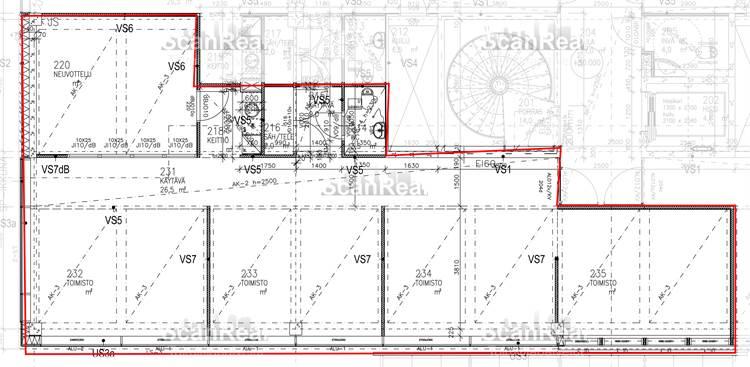 Planlösning Perintötie 2 Aviapolis