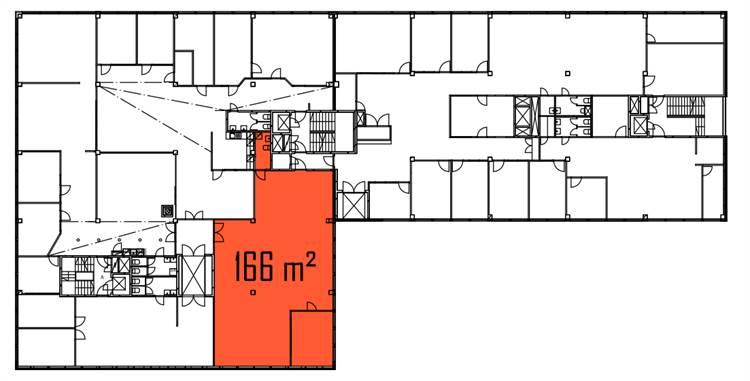 Planlösning Itälahdenkatu 23 Lauttasaari