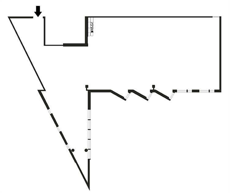 Planlösning Tekniikantie 12 Otaniemi