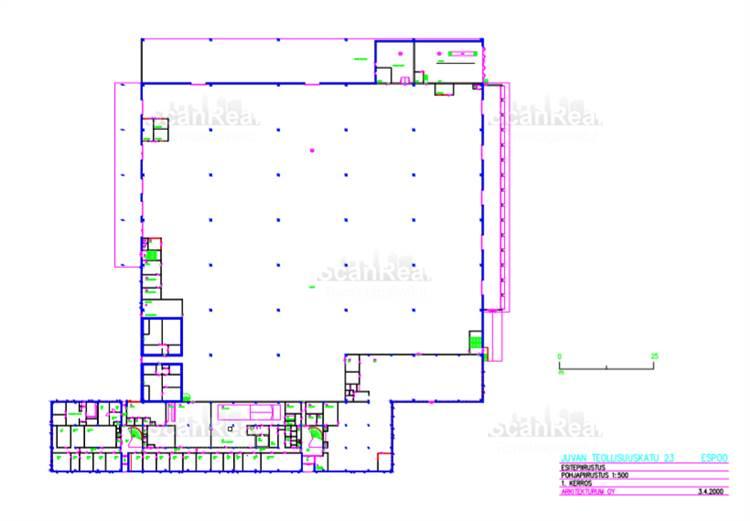 Planlösning Juvan Teollisuuskatu 23 Juvanmalmi