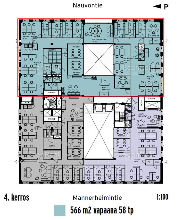 Planlösning Mannerheimintie 103 Ruskeasuo