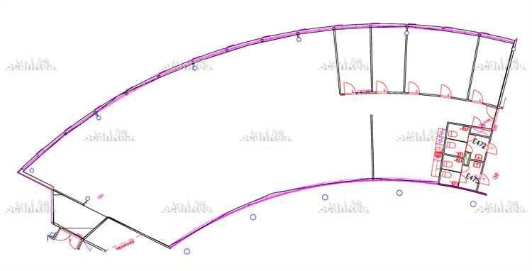 Planlösning Tekniikantie 14 Otaniemi