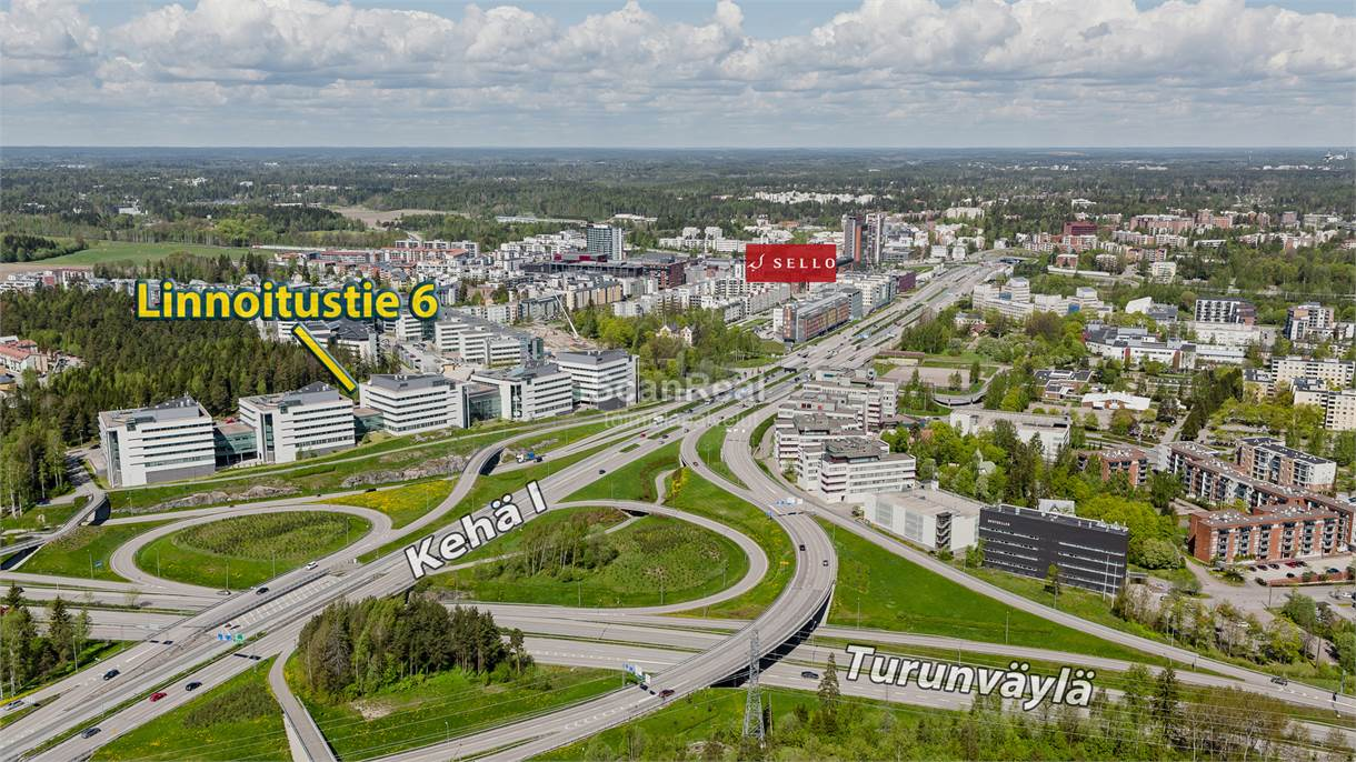 Linnoitustie 6, Leppävaara, Espoo