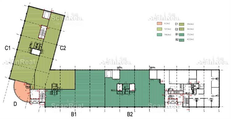 Planlösning Työpajankatu 10 Kalasatama