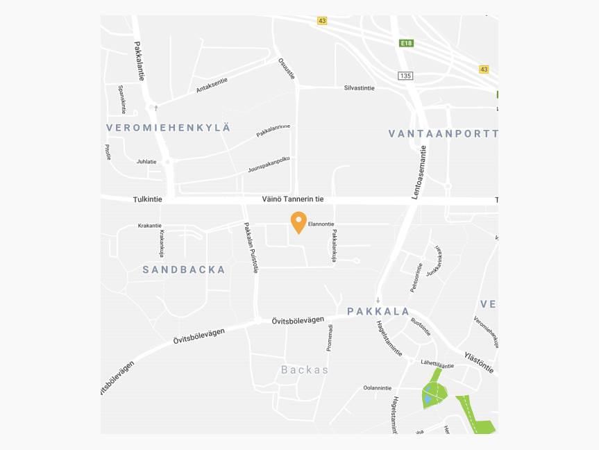 Elannontie 5, Pakkala, Vantaa