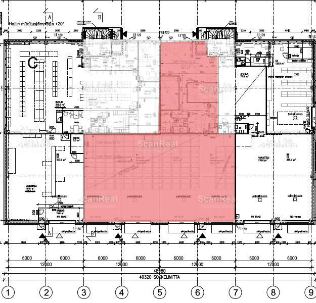 Planlösning Perintötie 8 Aviapolis
