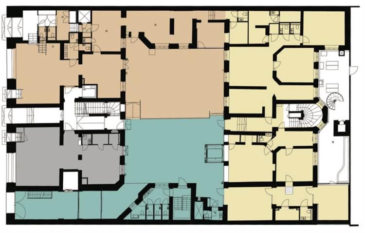 Planlösning Kasarmikatu 25 Kaartinkaupunki