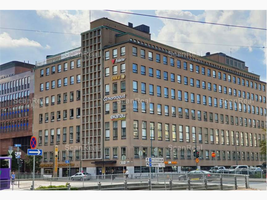 Antinkatu 1, Kamppi, Helsinki