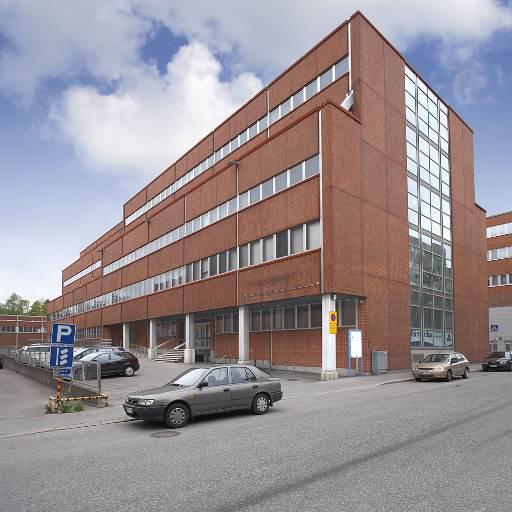 Planlösning Hiomotie 8, Pitäjänmäki