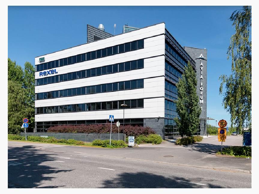 Robert Huberin tie 3, Veromies, Vantaa