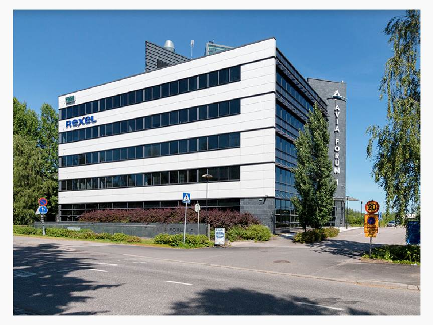 Robert Huberin tie 3 B, Aviapolis, Vantaa