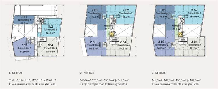 Planlösning Mannerheimintie 113 Ruskeasuo
