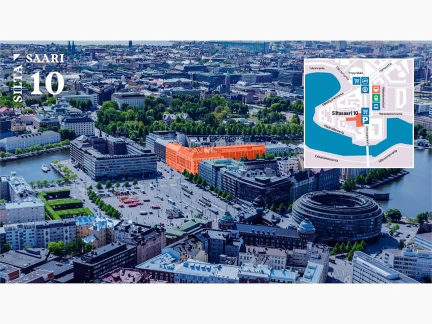 Siltasaarenkatu 8-10, Hakaniemi, Helsinki