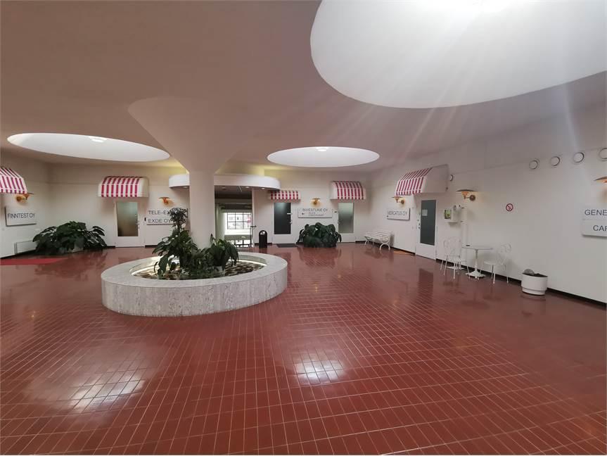 2. kerroksen aula