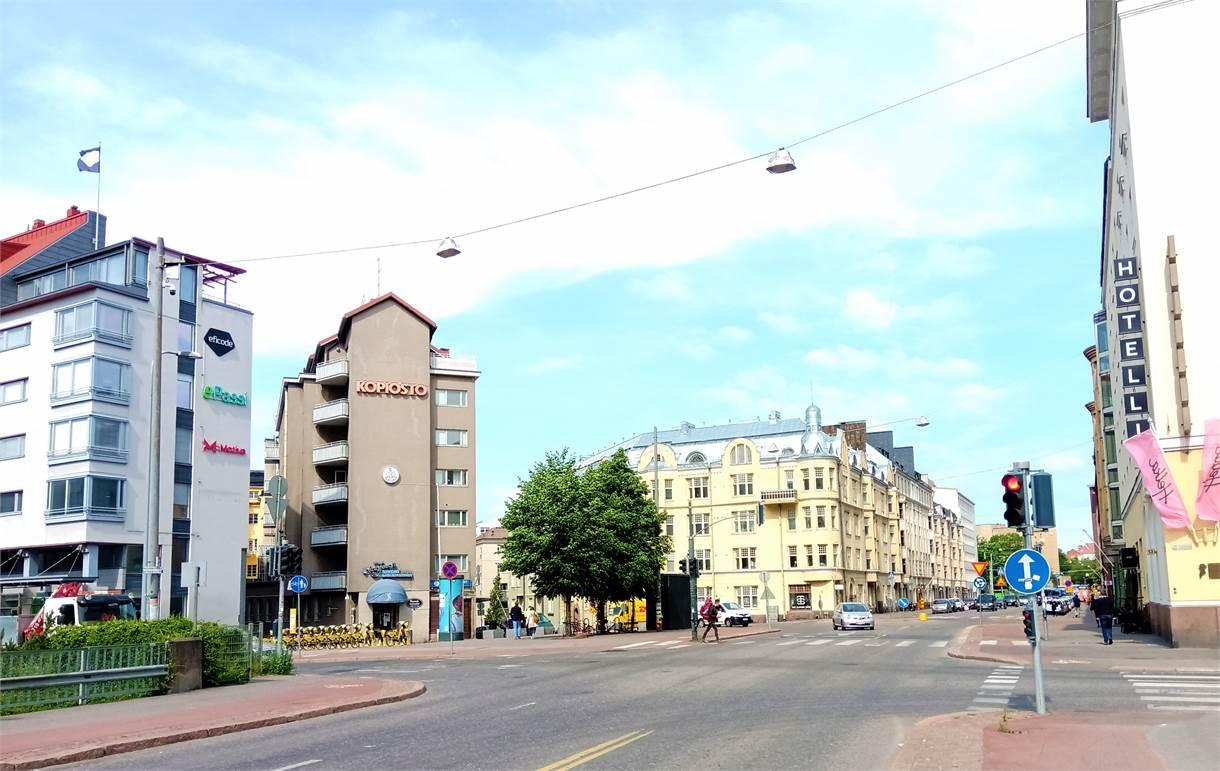 Pohjoinen Rautatiekatu 25, Töölö, Helsinki