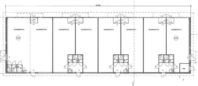 Planlösning Kuusiniementie 8 Viherlaakso