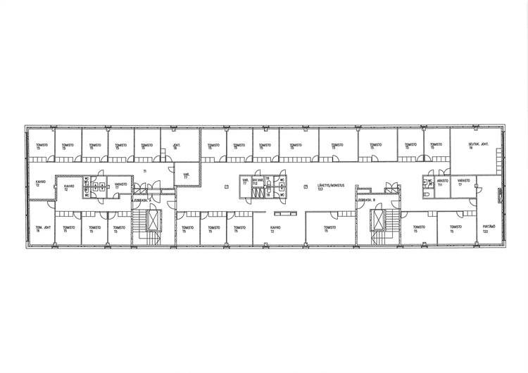 Planlösning Kauppurienkatu 6-8 Keskusta
