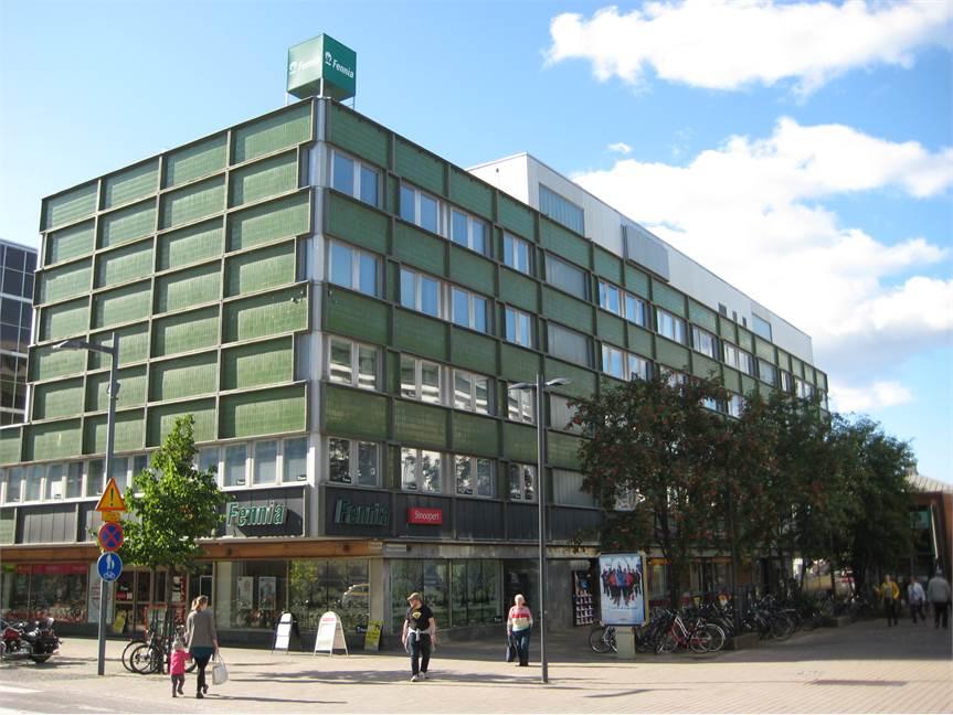 Kauppurienkatu 6-8, Keskusta, Oulu