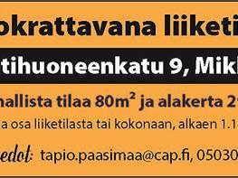 Toimitila, Raatihuoneenkatu 9, Keskusta, Mikkeli